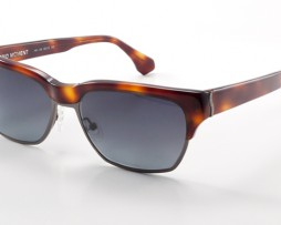Honey tortoise with gray gradient lens