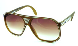 Satin brown with brown gradient lens