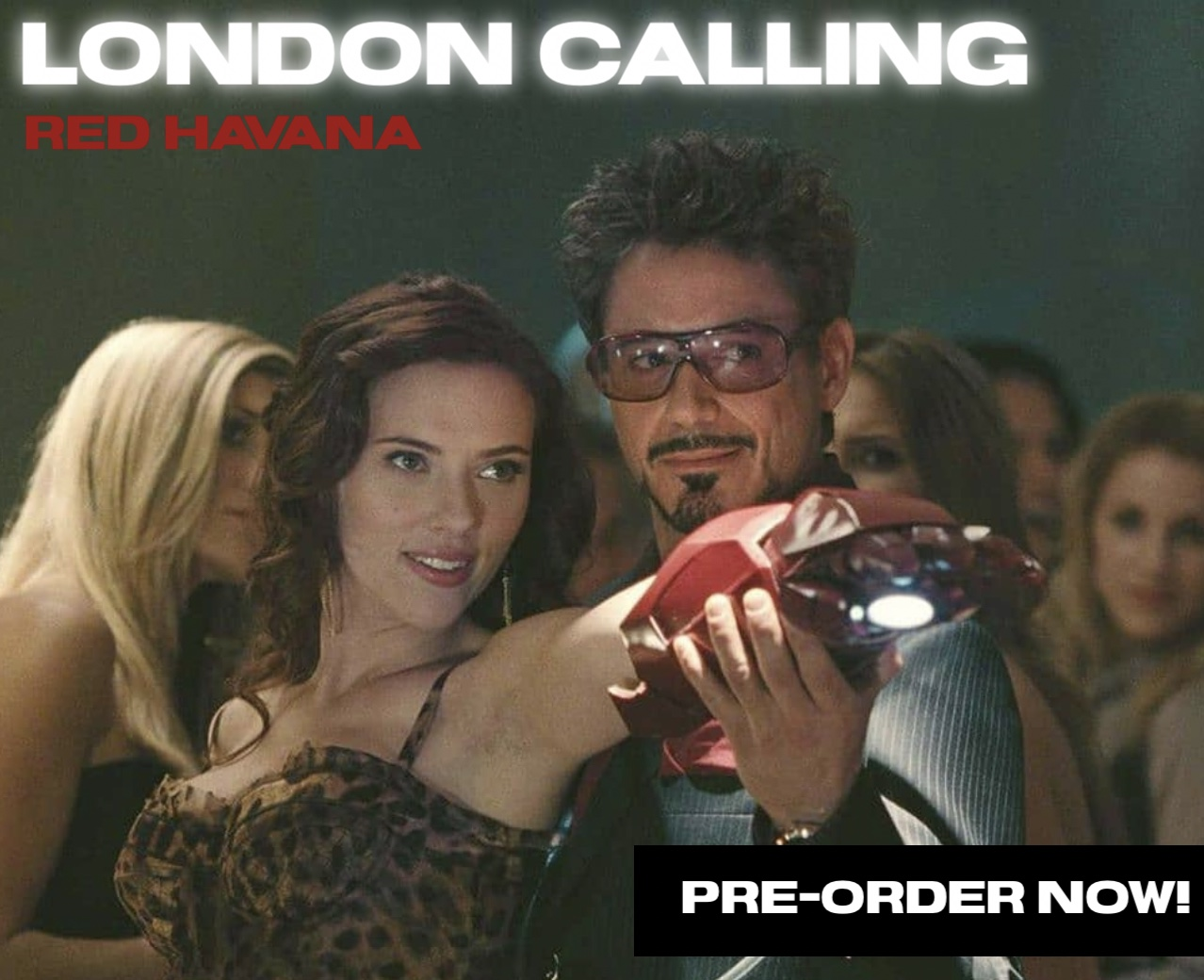 THIS IS NOT A DRILL: London Calling Red Havana is available for Pre-Order!